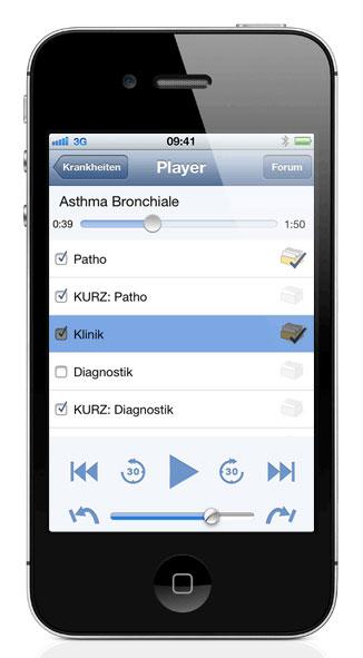 Meditorium bietet viele Podcasts zu examensrelevanten Themen der Inneren Medizin