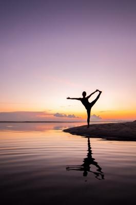 Entspannung ist wichtig beim Lernen - Manch einer regeneriert am besten durch Yoga.