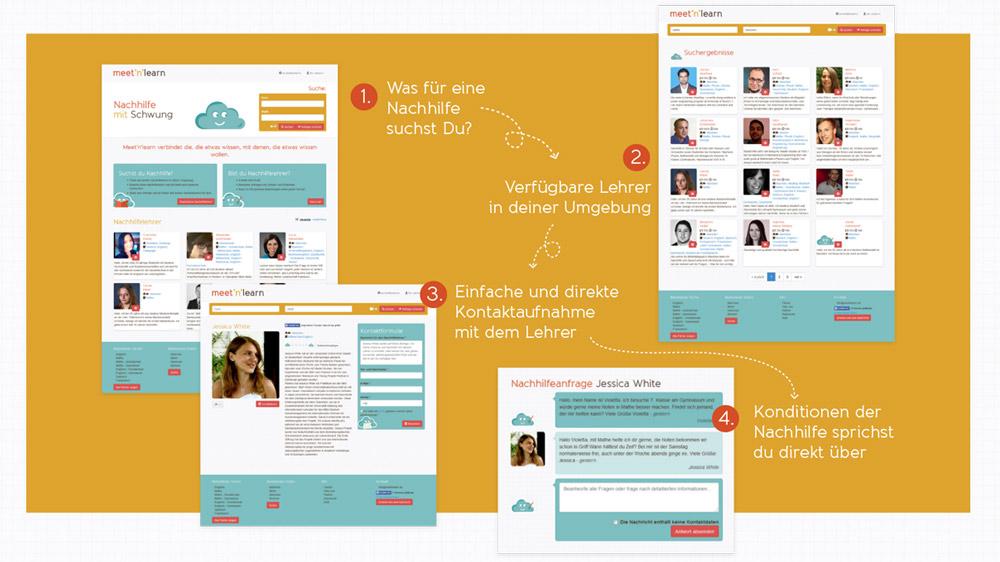 So funktioniert das Nachhilfe-Portal Meet'n'Learn