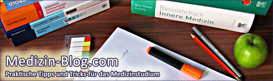 Medizin-Blog.com - Praktische Tipps und Tricks für das Medizinstudium