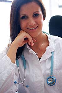 Désirée Schaumburg berät Medizinstudenten und junge Ärzte auf dem Weg zum Doktortitel.